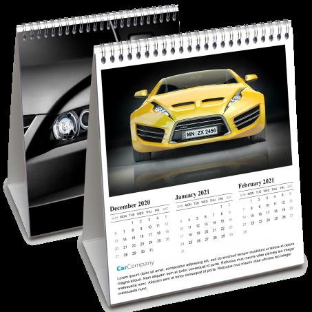 3 Month Desk Calendars Printing