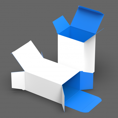 Reverse Tuck End Box (RTE)