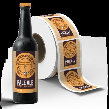 Beer Roll Labels