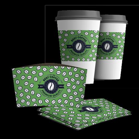 Coffee Cup Sleeves Printing