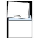 Blank 24lb White Wove Envelope icon