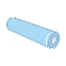 Shrink Wrap in Tube icon
