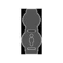 8oz (235 ml) Round Deli Container Sleeve icon