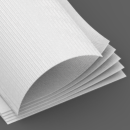 110 lb. Mohawk Via Linen Bright White Cover (14 pt.) FSC® ♽ icon