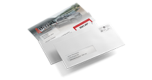 Direct Mail Letter with Window Envelope Icon
